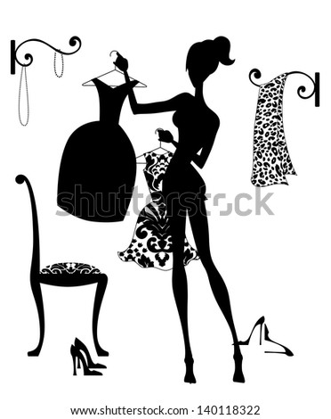 stock-photo-silhouette-fashion-illustration-of-a-girl-in-her-boudoir-choosing-an-outfit-140118322.jpg