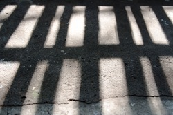 Silhouette jail,prison,Abstract background