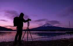 Silhouette Nature Photographer