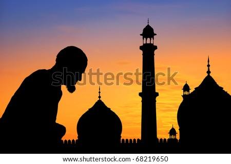 people praying clipart. Muslim+praying+clipart