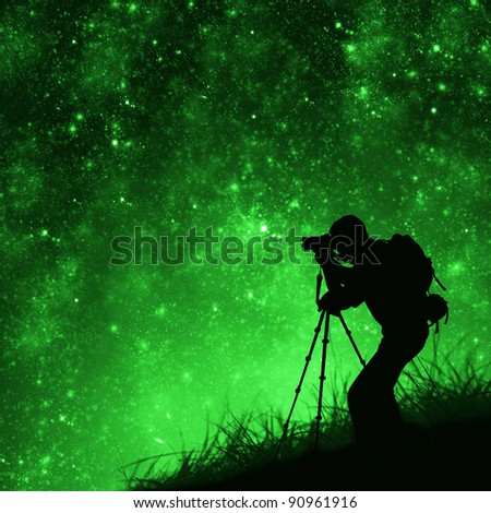 Shooting Star Silhouettes Shooting Stars
