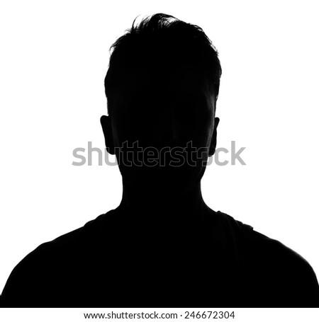 silhouette studio shot isolated on white #246672304