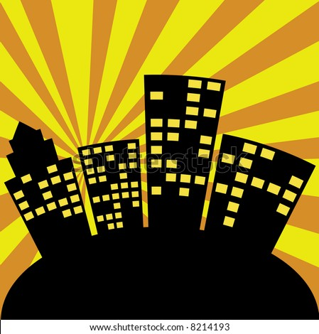new york skyline cartoon. new york skyline cartoon. new