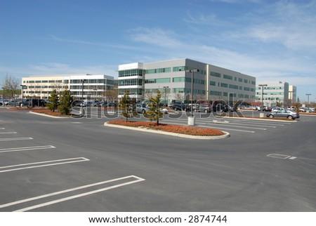 Silicon Valley office park, Mountain View, California