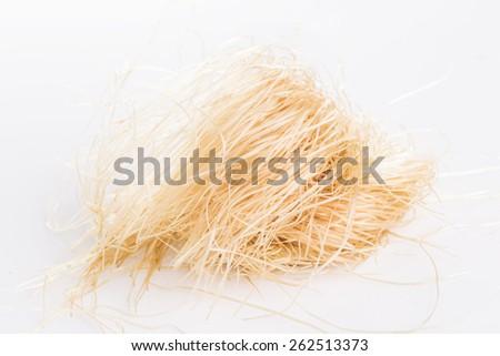 Silk corn on white background #262513373