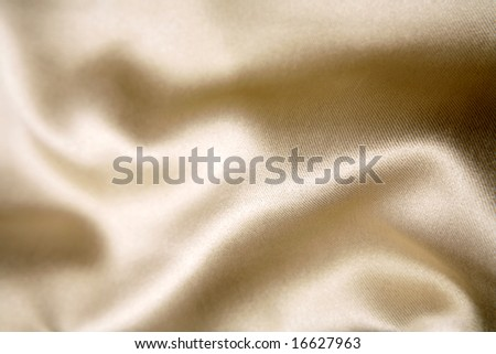 Silk fabric - stock photo