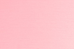 Silk fabric blended cotton textile wallpaper detail texture background in sweet light pink color