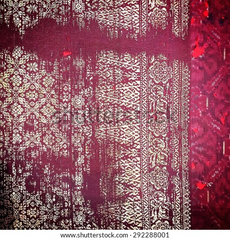 Silk more than 250 years old Colorful thai silk handcraft peruvian style surface close up More this  textiles peruvian stripe beautiful background tapestry detail pattern farabic fashionable