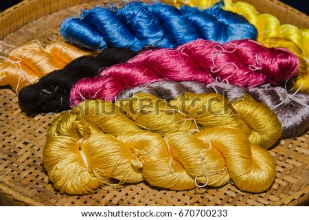 silk thread is raw material #670700233