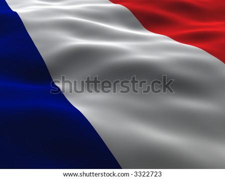 Silky France Flag