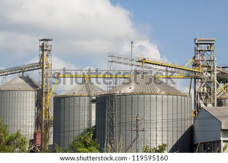 silo agriculture granary industry