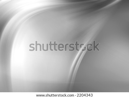 silver abstract composition