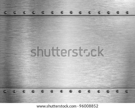 silver armour metal background