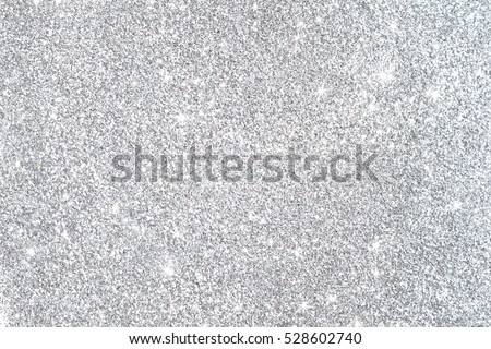 Silver background Abstract Bokeh Christmas.