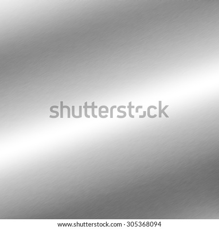 silver background metal texture with oblique line of light