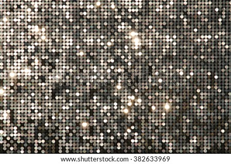 Silver background mosaic with light spots