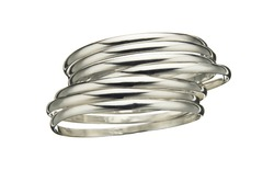 Silver Bangle Bracelets