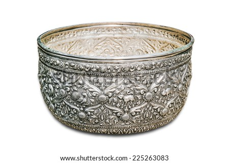 Handicraft Silver Silver Bowl Handicrafts of