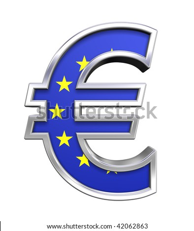 european union symbol. sign with european union