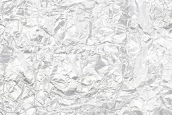 Silver foil high detailed surface
