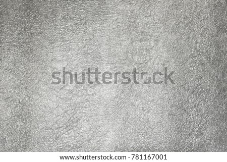 Silver Foil Shiny Metalic Texture Background #781167001