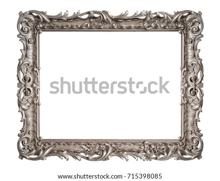 silver frame for paintings ...