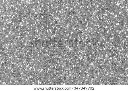 Silver glitter sparkle. Background for your design.