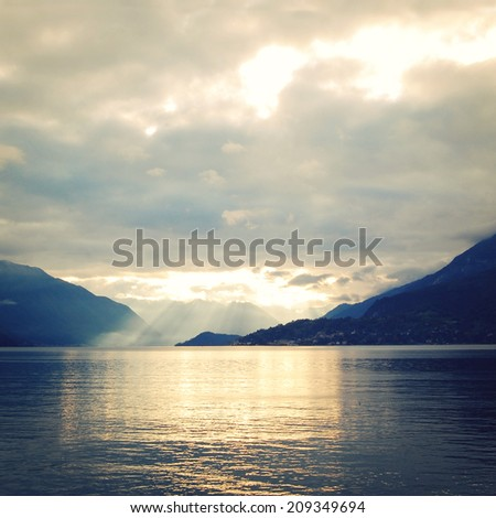 silver linings in lake como at...