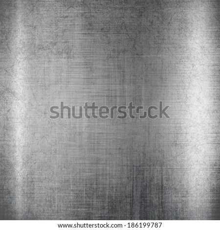 Silver metal texture Steel background