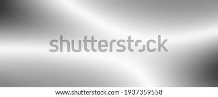 SILVER metallic art texture abstract widescreen background Photo stock ©