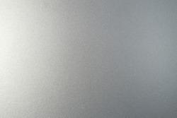 Silver metallic paint on steel texture background