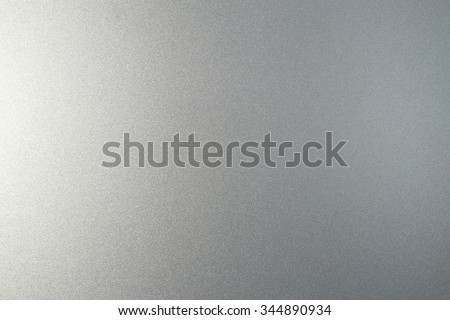 Silver metallic paint on steel texture background