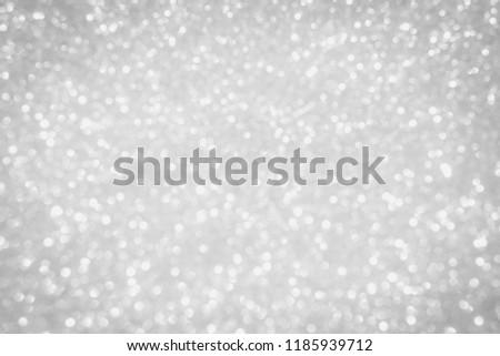 Silver Sparkle Wallpaper For Christmas Glitter Background Shimmer White Texture 1185939712