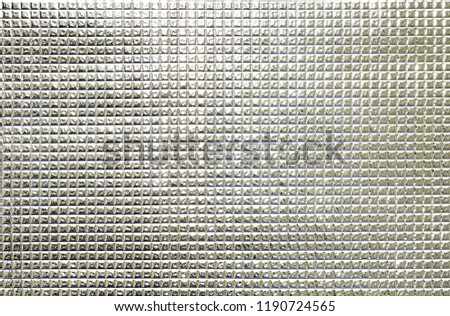 Silver surface glass surface.Silver surface.Silver surface is the ideal image to be made into the background image.