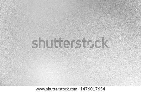 Silver texture background. Silver shine paper Foto d'archivio ©
