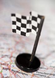 Silverstone race track destination