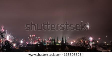Silvester über Bamberg #1355055284