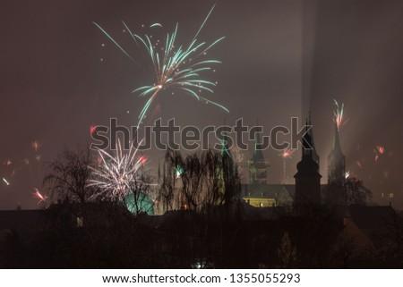 Silvester über Bamberg #1355055293