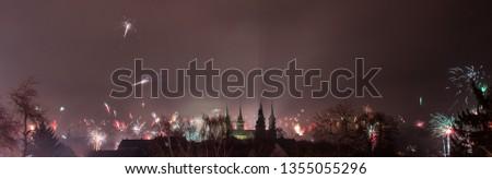 Silvester über Bamberg #1355055296