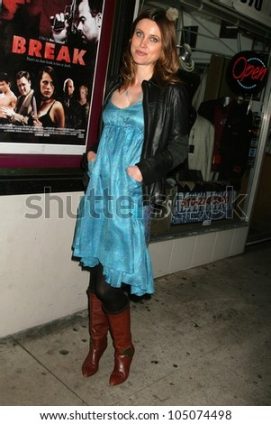 Silvia Suvadova at a Special Industry Screening of \'Break\'. Laemmle\'s Music Hall 3, Beverly Hills, CA. 05-01-09