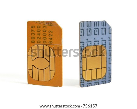 SIM cards for cell phones
