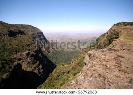 Simien mountains