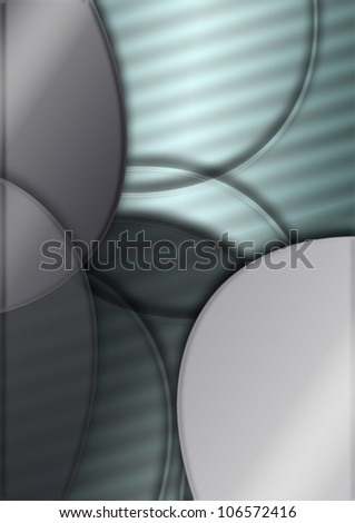 simple abstract background of ellipse and lines