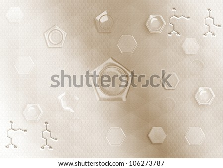 simple abstract background of soft light lines