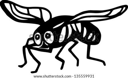 Fly Cartoon Drawing Drawing of a Cartoon Fly