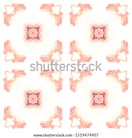 Simple Fabric Ornate. Marrakech Texture Design. Simple Fabric Ornate. Pink Seamless Mexican Mosaic Design. Simple Textile Print. Pink Repeating Washed Fabric. Simple Fabric Ornate.