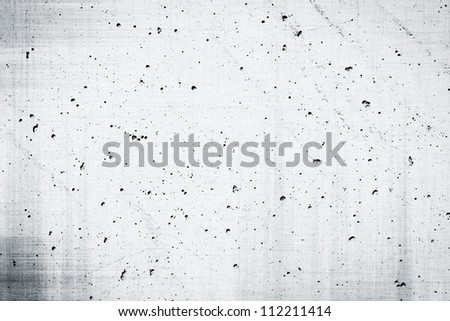 Simple gray concrete wall background with texture dark edged