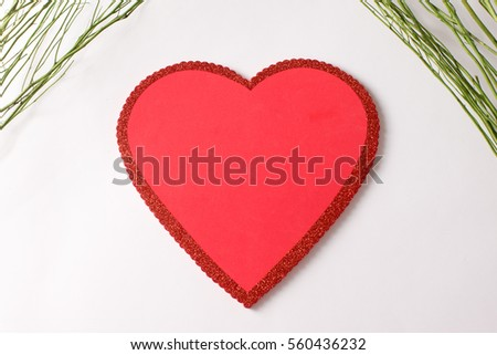 Simple Heart #560436232