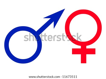 Woman Symbol Logo Men Women Love Symbol