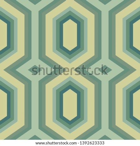simple modern seamless geometric hexagon style. ash gray, gray gray and teal blue colors. pattern illustration for wallpaper, fashion garment design, wrapping paper or texture.